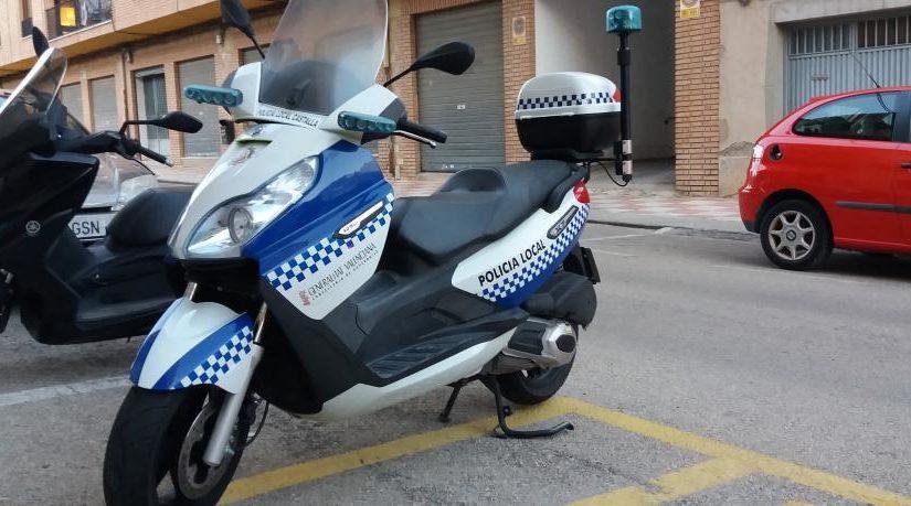 La Policía Local de Castalla denuncia falta de personal y de inversión en equipamiento